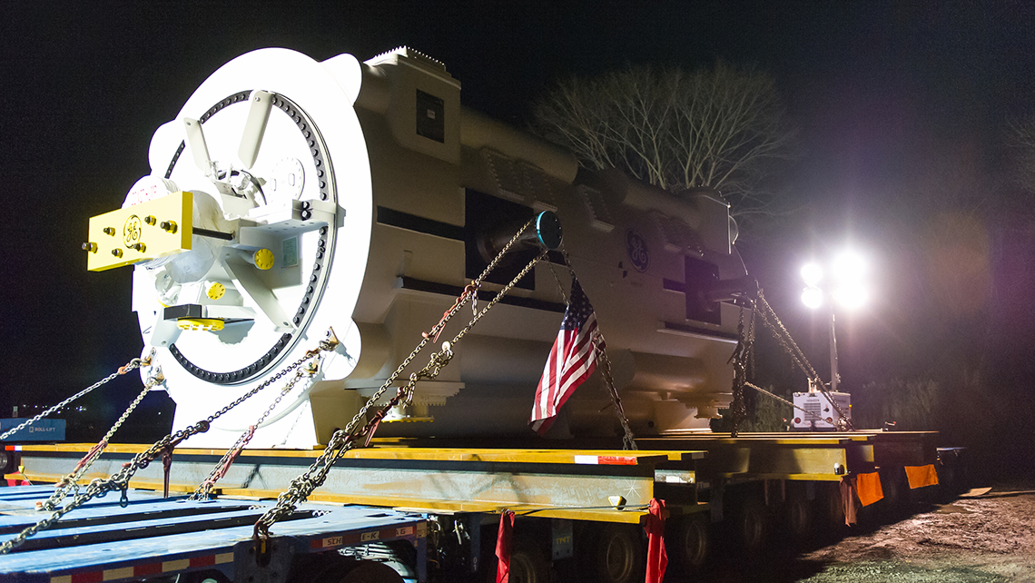 Flagger Force Project; Generator Transport to CPV St. Charles Energy Center