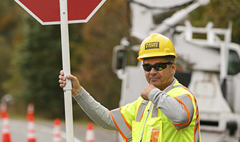 Temporary Traffic Control Company - Flagging Capabilities   PA, MD