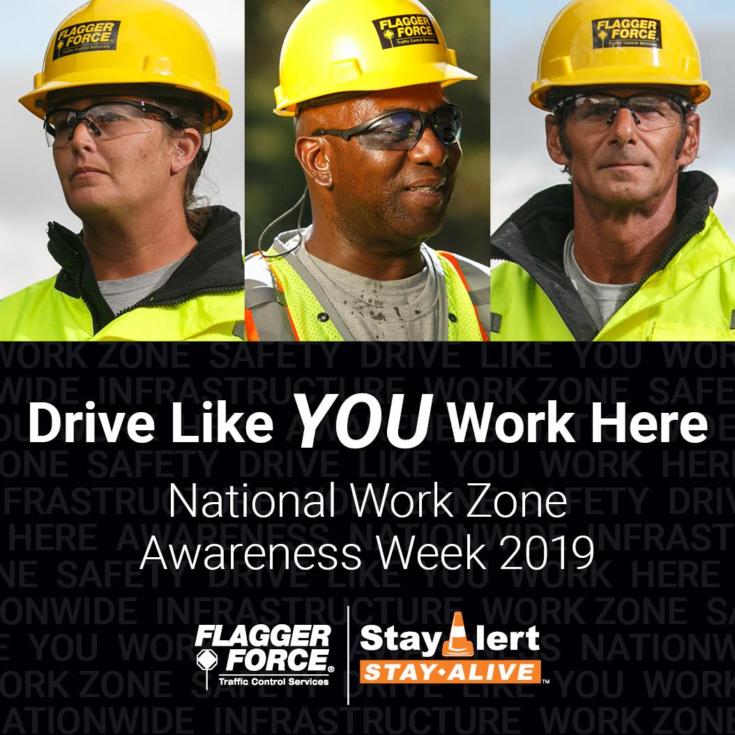 National Work Zone Awareness Week 2019 Recap