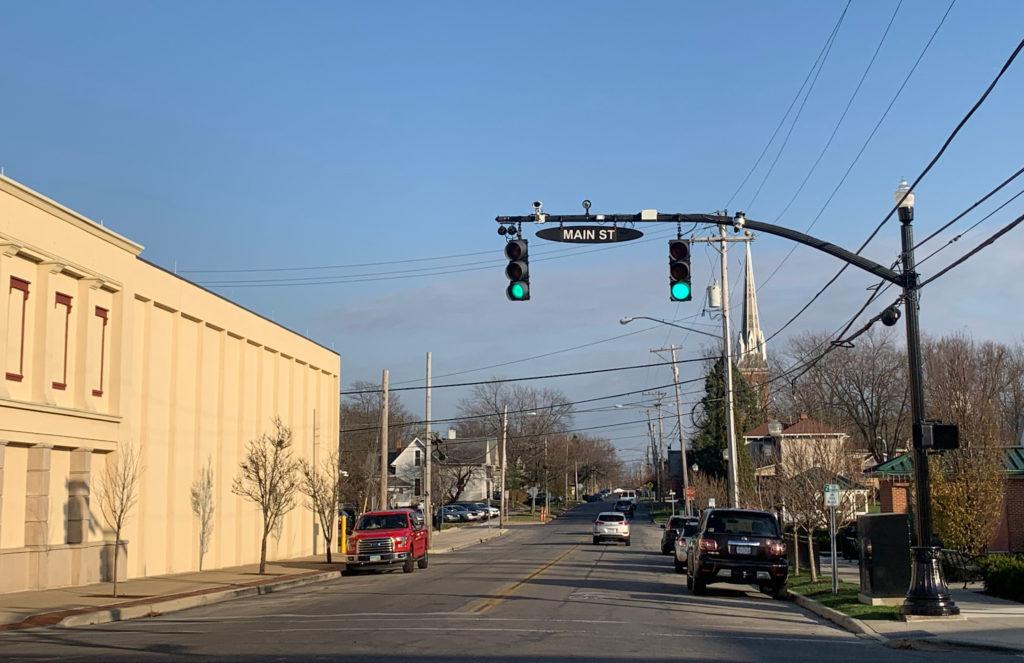 Main St, Marysville, OH—Green-light