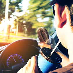 Distracted Driving_Eating and Drinking Behind Wheel